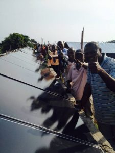 Successful LMT installation of microgrid in Africa